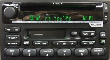 Villager Quest 19992002 CD Cassette RDS radio w CDC REMAN