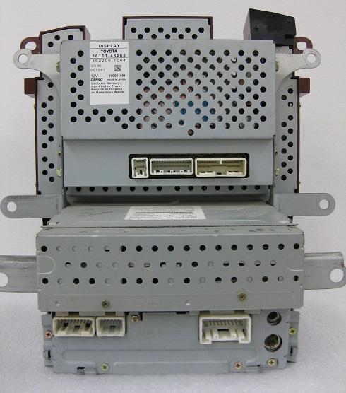 2014 Tundra Head Unit Wiring Diagram Highlander 2004 07 Cd6 Navigation Nav Gps Jbl Radio And