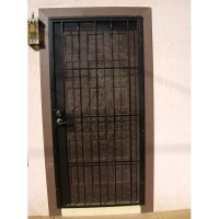 Handyman Hookup - Metal security doors installed with a ...