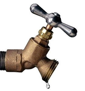 leaky outdoor faucet replace outdoor
