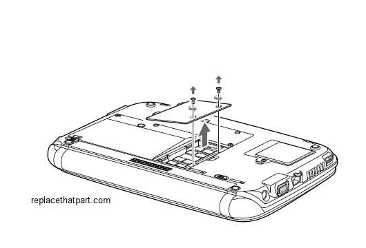 How to Upgrade RAM Memory of the Fujitsu LifeBook MH380
