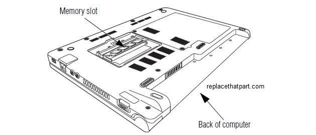 Toshiba NB255 and NB250 RAM Memory Upgrade Tutorial