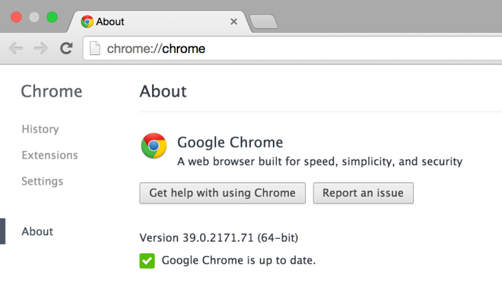 64bit Google Chrome on OS X