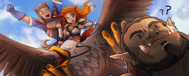 Banner for TWC art contest related to WoW movie!
