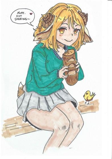 Bread Girl by NiWo20k
