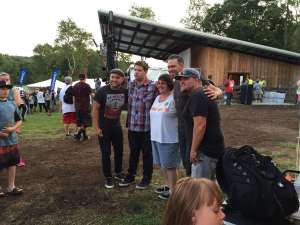 Replenish Festival 2015 - JJ Weeks with fan