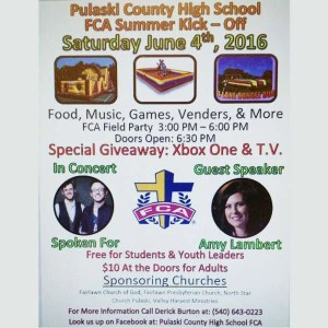 Similar-Events__Pulaski-County-High-School-FCA-Summer-Kickoff