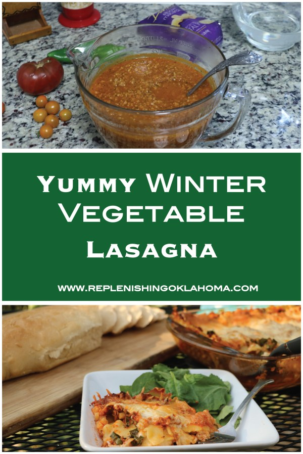 I'm not sure about you but in the winter, I have a tough time using seasonal vegetables. That's why I came up with winter vegetable lasagna. It's a simple lasagna recipe, easy to customize and make any time of year.