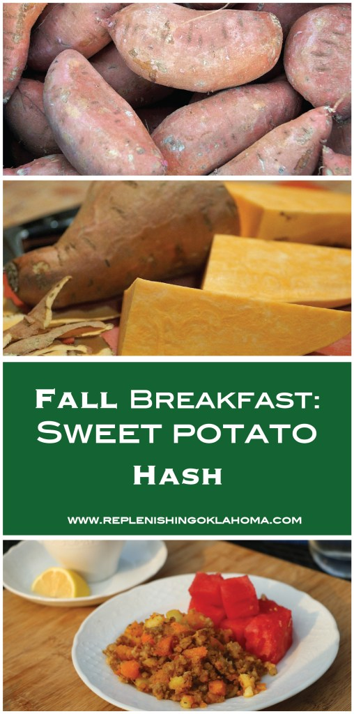 This fall sweet potato breakfast dish has the yummiest produce fall has to offer. It's so filling and it'll keep you going all day long.