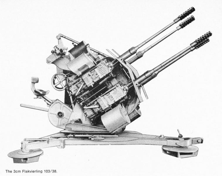 German 3cm Sprgr.Patr for MK-103 | Replica Arms Manufacturer