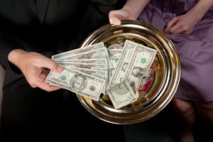 cash; caucasian; christian; christianity; christians; church; congregation; dish; diversity; donation; faith; giving; money; offering; offering dish; offering plate; people; plate; religion; religious; service; spiritual; tithe; worship; worship service
