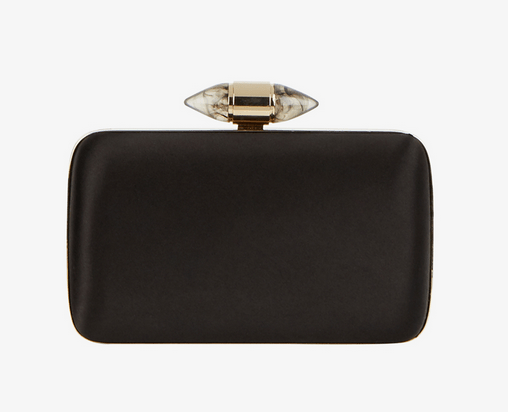 Givenchy satin clutch with jewelry clasp Duchess of Sussex