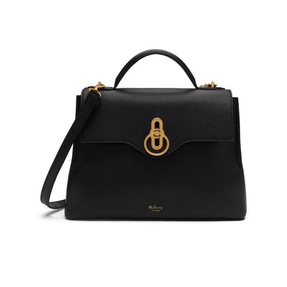 Mulberry small 'Seaton' black bag