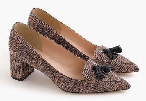 J Crew 'Avery' check shoe