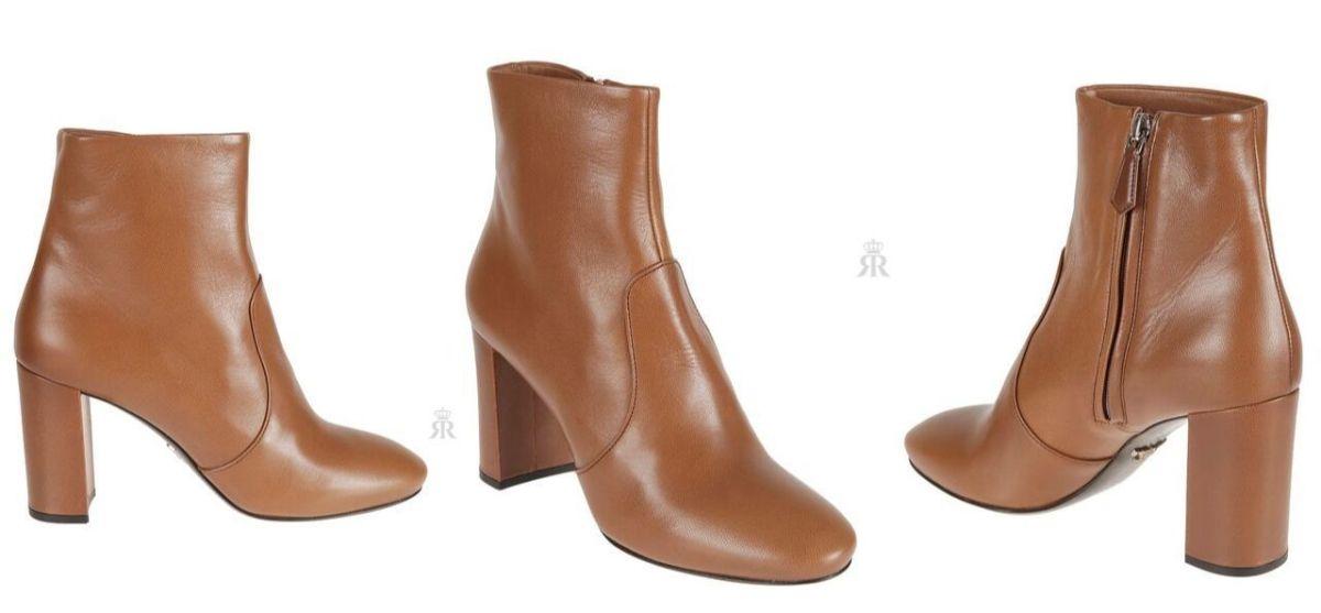 Prada 'Madras' ankle boot