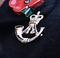 5th Battalion Rifles badge (Welsh Government)