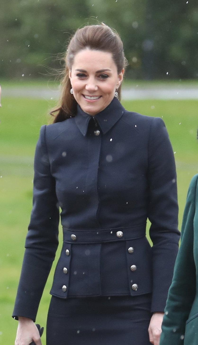 McQueen military peplum jacket