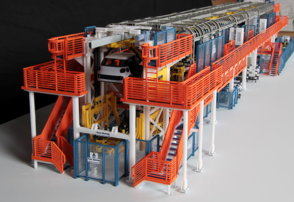 Flex Decking by CPM x produzione FIAT 500L - protocube