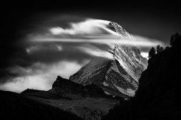 Matterhorn, Sunset Clouds, Nenad Saljic