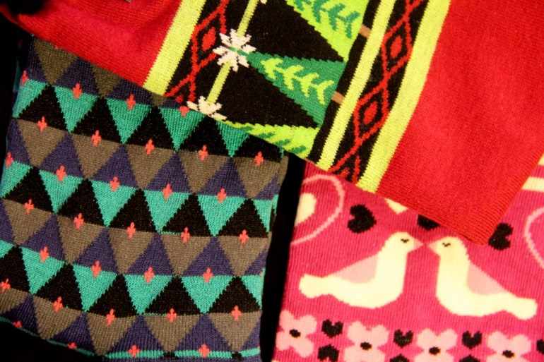 Socks for Dot.