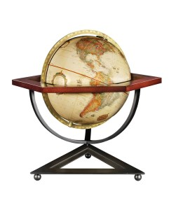 floor, globe, antique, 18-32