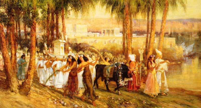 Ежелгі Египетте жаңа жылдық мереке