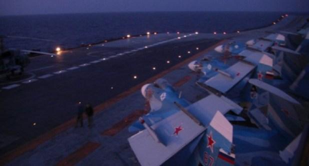 З'явилось фото із трюму скандального «Адмірала Кузнецова» - блогер