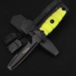 ブラントティップのナイフで両刃のものは銃刀法に該当しませんか
