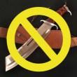 銃刀法で所持が禁止のナイフ