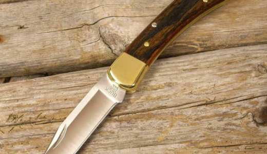 ロックバック方式の折りたたみナイフの閉じる方法