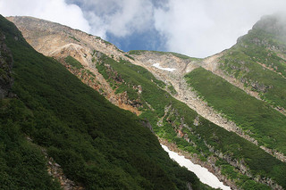 On the slopes of Mt. Ontake