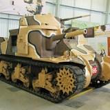 Grant Medium 3 Tank, Bovington Tank Museum - Dorset.