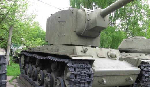 街道上の怪物と言われた戦車 KV-2