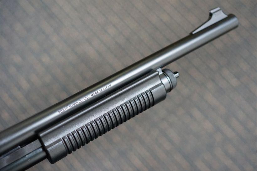 東京マルイ M870 タクティカルのバレルとフォアグリップ