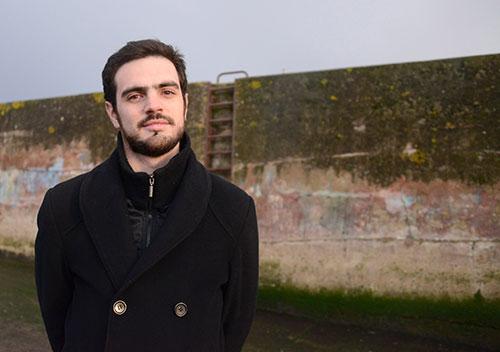 Le journaliste Antony Drugeon, fondateur de ReporMed, avant son tour de la Méditerranée