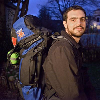 Le journaliste Antony Drugeon fait le tour de la Méditerranée en un an sans avion