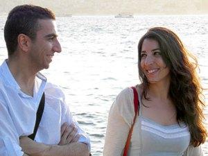 Yusuf, avec Marine Sabounji, à Istanbul.
