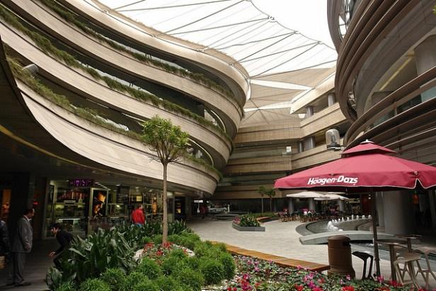 Centre commercial de 30 étages dans le quartier chic du Levent, à Istanbul.