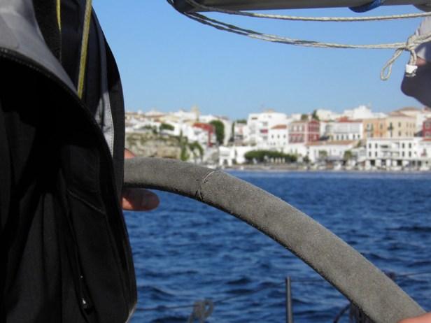 Barre de voilier