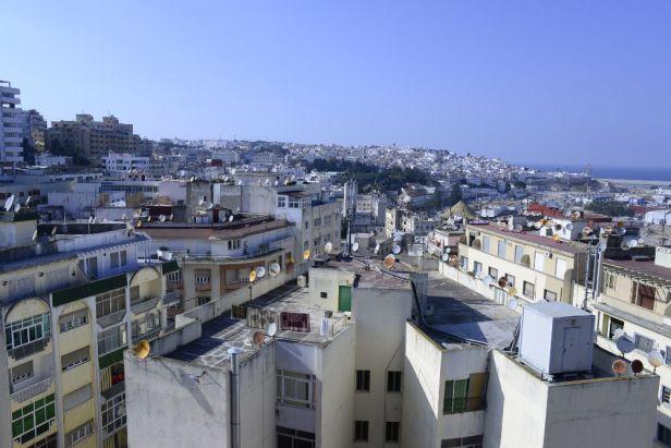 Vue sur Tanger et sa médina