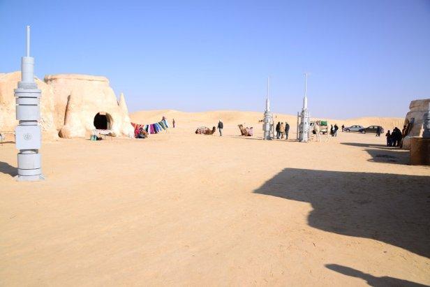 Le village de Tatooine des films Star Wars