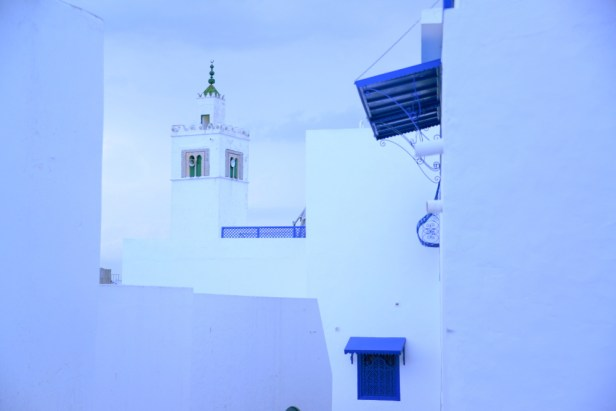 La mosquée de Sidi Bou Saïd