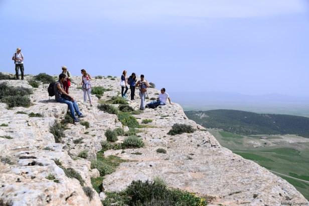 Vue sur l'Algérie depuis la table de Jugurtha