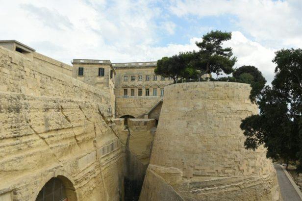 L'entrée fortifiée de La Valette