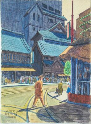 浮世絵 ・水彩画に見る 新宿風景展 江戸から昭和まで