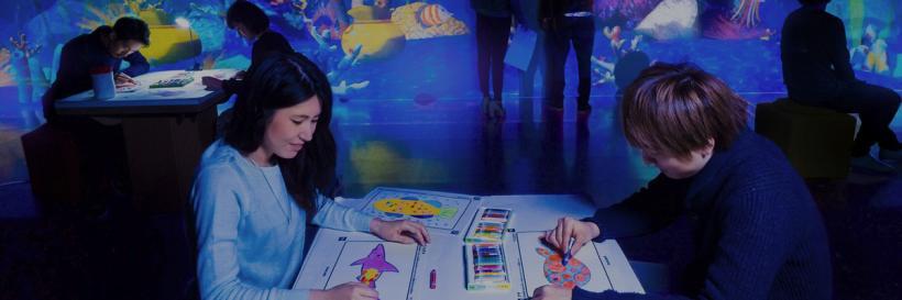 チームラボ★アイランド 踊る!美術館と、学ぶ!未来の遊園地