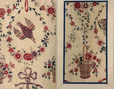 マリー・アントワネットのドレスの断片