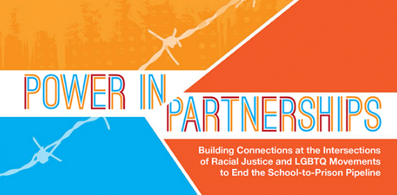 This report from the Advancement Project, the Equality Federation Institute, and the Gay-Straight Alliance describes how to buildconnections across identities to dismantle the school-to-prison pipeline.