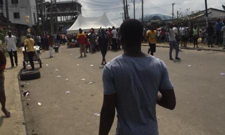 ogbunabali port harcourt protest community no electricity