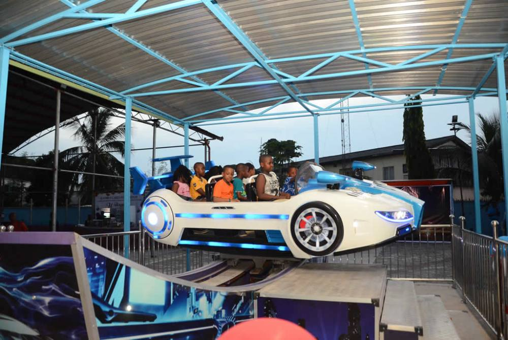 flying car at garden city amusement park relaxation parks to visit in port harcourt